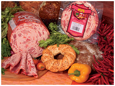 Pakdam Pars Smoky Prime Kielbasa has the highest meat percentage among the Pakdam Pars smoked Sausages and Kielbasas.