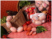 Various Sausage and Kielbasa products with premium quality